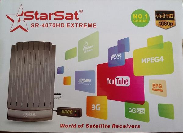 STARSAT SR-4070HD EXTREME