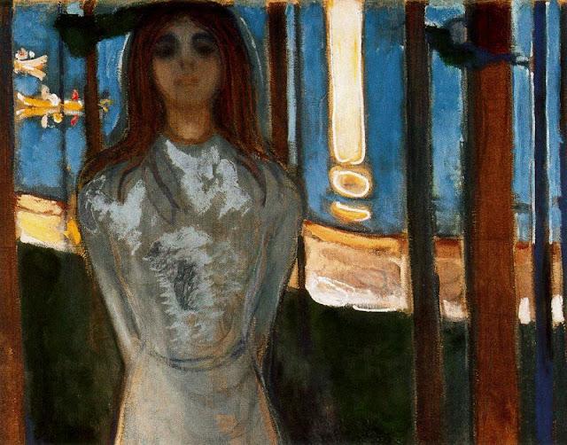 Эдвард Мунк - Голос (Летняя ночь). 1896