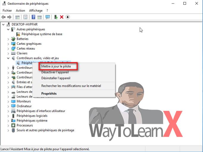 [Résolu] Pilote CONEXANT Audio HD sous Windows 10