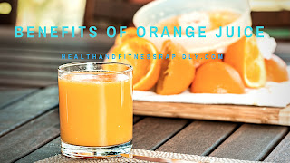 Benefits of orange juice