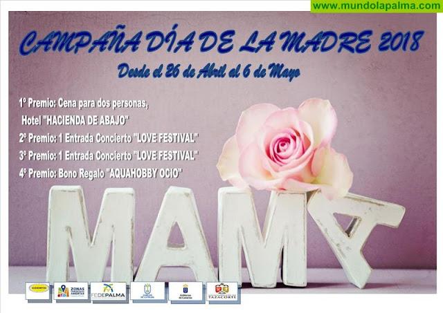 Las empresas de Tazacorte celebran el Día de La Madre fomentando las compras en el municipio