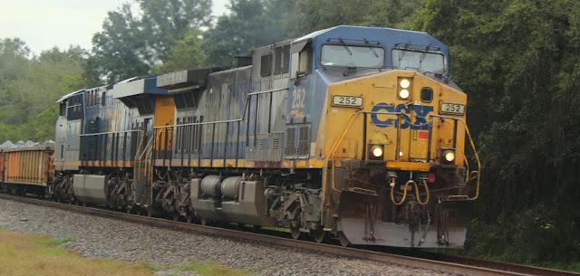 Trenes de CSX Transportation junto a la US 301