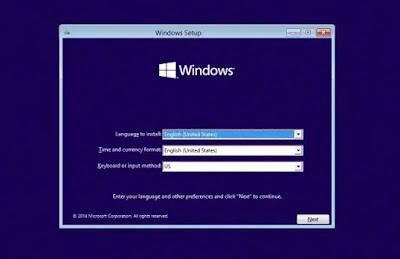 Cara Install Windows 10 via FlashDisk