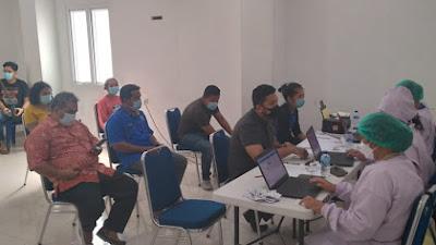 GKPI-Pemko Medan Gelar Vaksinasi Covid-19 Bagi Jemaat dan Lansia