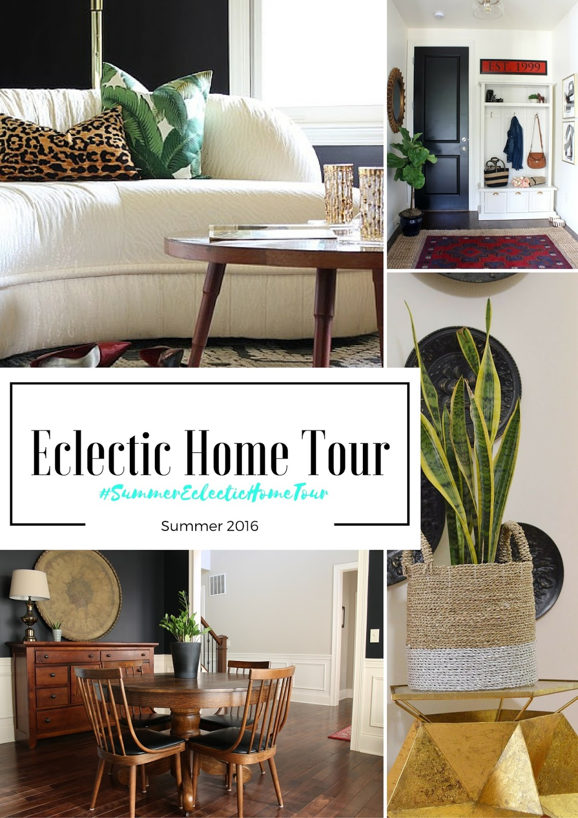 Eclectic decor, summer eclectic home tour, domicile 37, vintage decor, edgy home decor, minted curtains, rental living, rental DIY