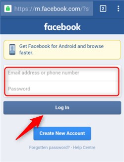 Sign In Facebook Account
