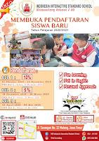 Brosur Pendaftaran Siswa Baru SD Internasional di Malang