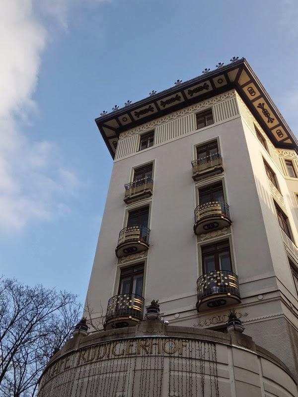 Vienne Wien art nouveau café rüdiger-hof