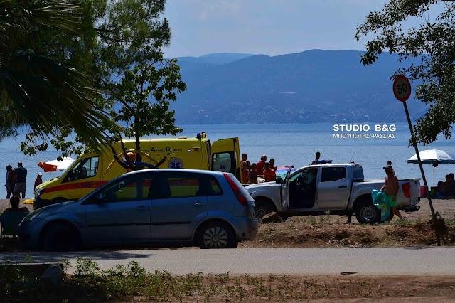 Νεκρός 71χρονος στην παραλία Καραθώνας στο Ναύπλιο