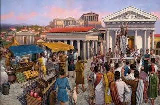 ricerca sulla vita di Atene, usi e costumi degli antichi greci