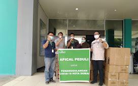 Lawan Pandemi, Apical Group Serahkan Bantuan ke RSUD Dumai