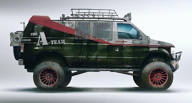 Zombie A-Team Van