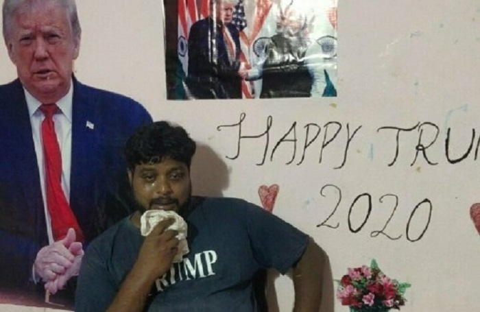 Depresi Idolanya Tertular Covid-19, Pria India Penyembah Trump Meninggal Dunia
