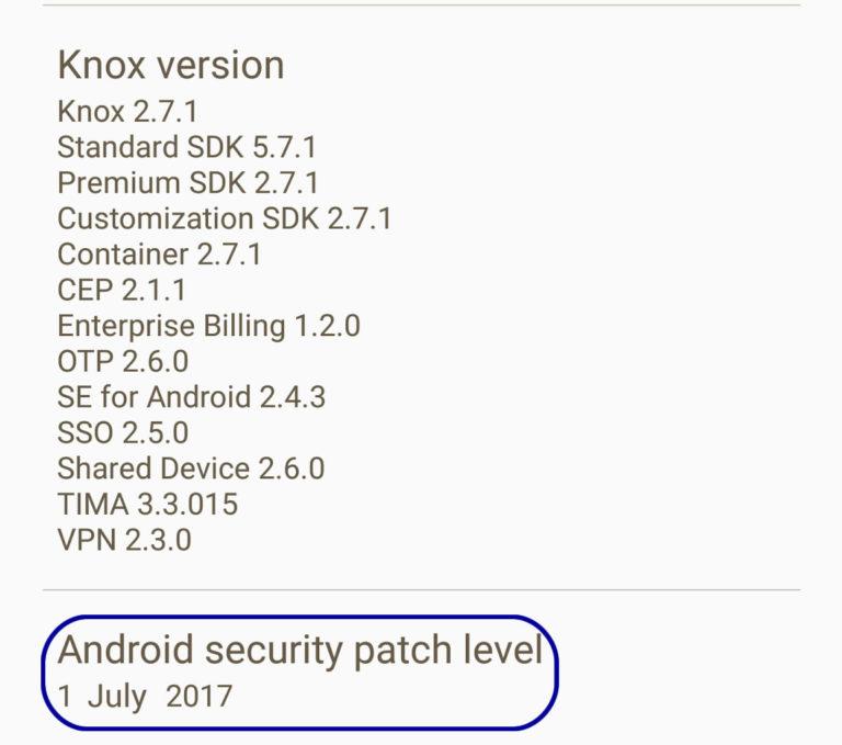GalaxyS6edgeUpdate: Galaxy S6 G920F OTA Update