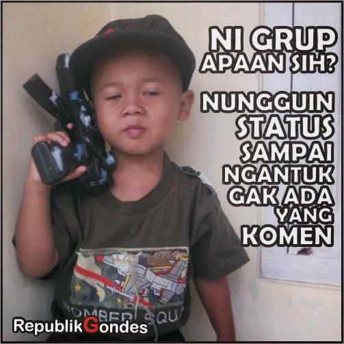 Meme Gokil Komen Status Di Grup Humor Fb