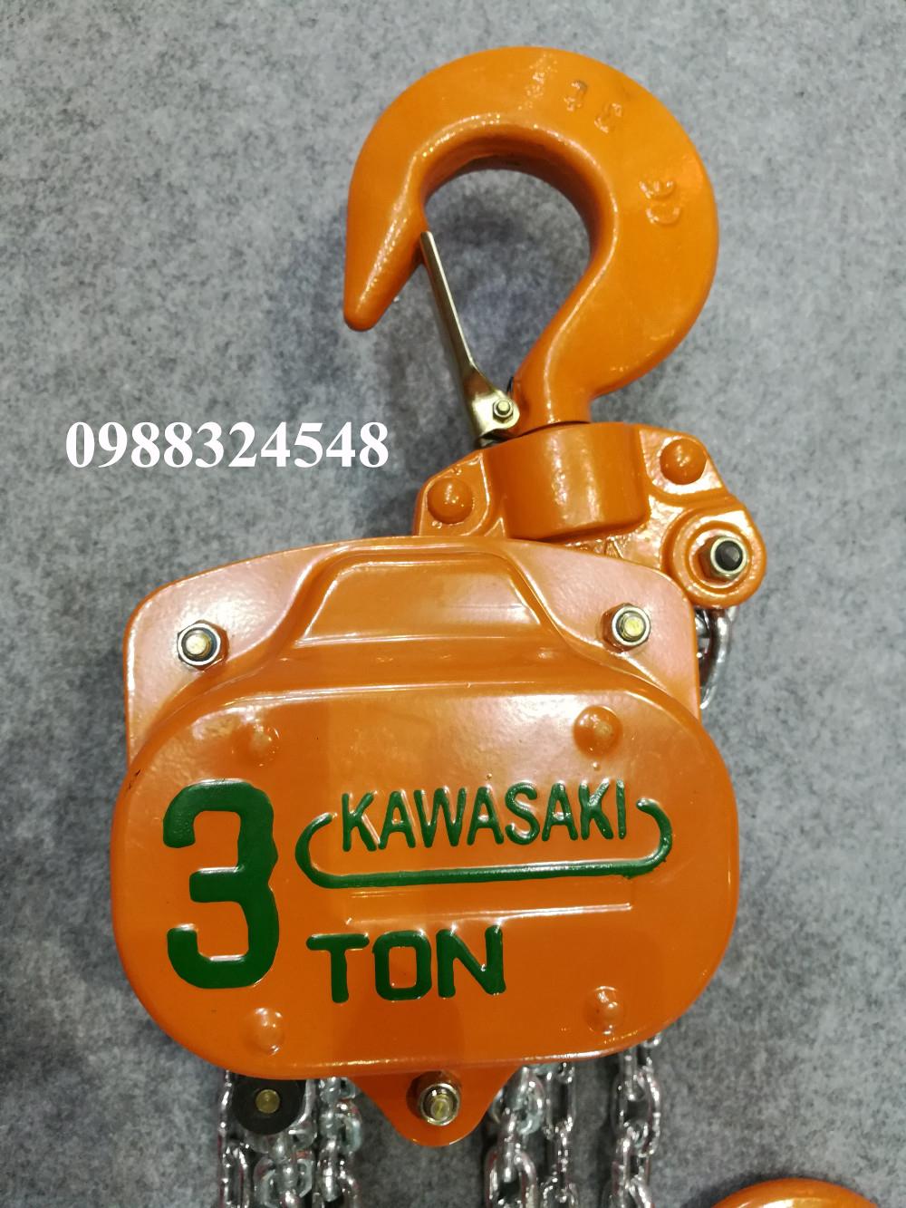 palang kéo tay Kawasaki 3 tấn
