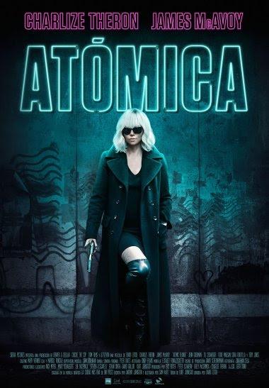 El thriller de acción Atómica comparte tráiler y póster