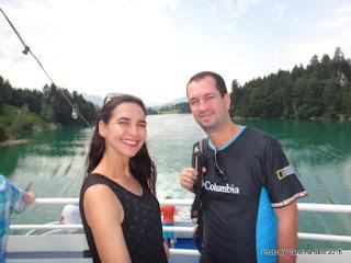 Passeio de barco (Forggenseeschifffahrt)