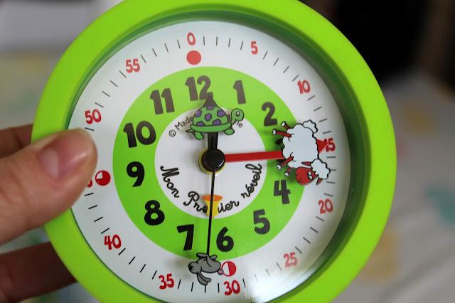 expliquer aux enfant comment lire l'heure
