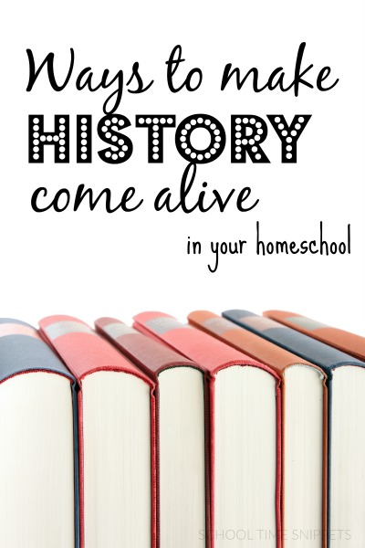 homeschool history activities