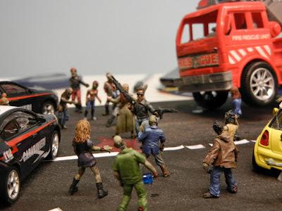 Un apocalizze Zombie in miniatura !!!