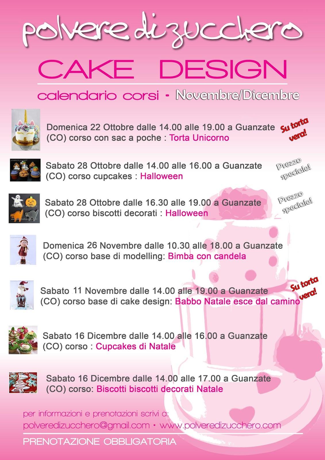 cake design corsi sugar art corso collettivo modelling corso base biscotti cupcake halloween natale