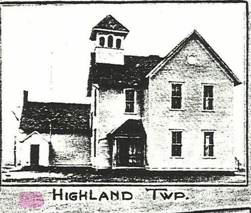 Defiance County, Ohio Genealogy: Highland Township High