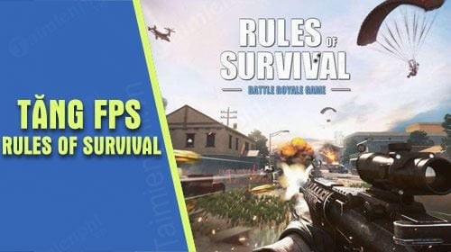 Lựa chọn mục Settings ở giao diện chính của game Rules of Survival.