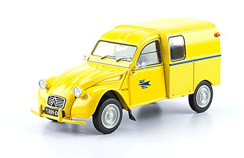 collection citroën 1/24a Citroën 2CV AZU La Poste