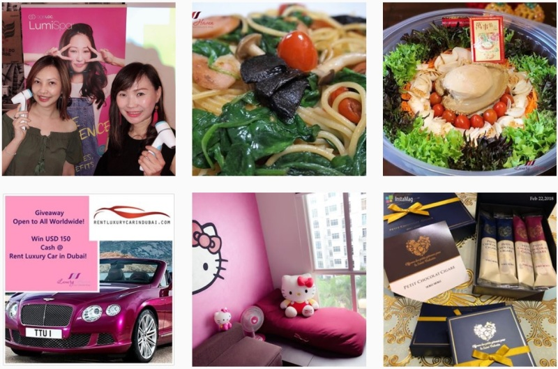 singapore lifestyle blogger instagram round up