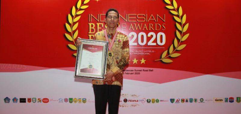 Indonesia Best of The Best 2020: Rudi Dinobatkan jadi Pemimpin Pembawa Perubahan