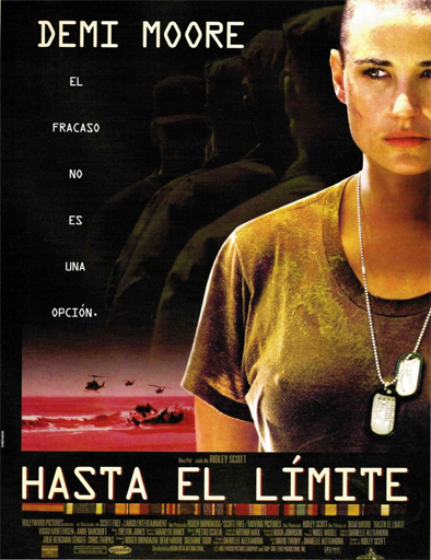 Ver Hasta el límite (G.I. Jane) (1997) Online