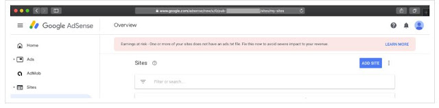 Bagaimana Untuk Menetapkan Amaran Ads.txt dalam Akaun Google AdSense