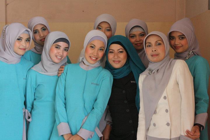 Cara Hijab Spg Wardah Jilbab Voal