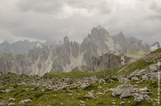 Tres Cimas de Lavaredo viajar Italia turismo senderismo