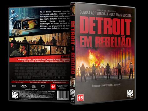 Capa DVD Detroit em Rebelião [Custom]