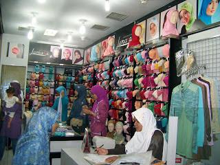 Toko Jilbab di Sumedang