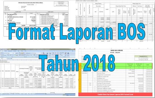 Format Laporan BOS Tahun 2018