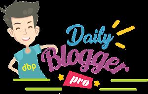 Logo Official Blog Daily Blogger Pro
