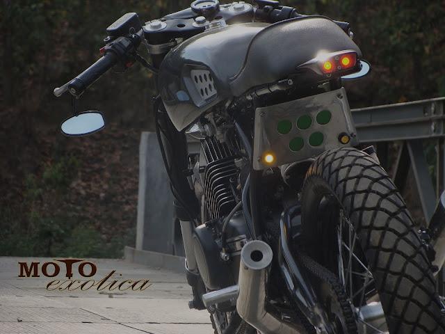 Yamaha RD350 By Moto Exotica Hell Kustom