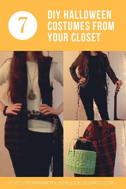 DIY Halloween Costumes from Your Closet