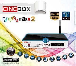 cinebox - CINEBOX ATUALIZAÇÃO CINEBOX%2BFANTASIA%2BMAXX2