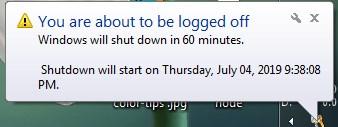 shutdown,otomatis,pc,cmd,taksbar