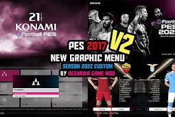 New Graphic Menu Season 2022 Custum V2 - PES 2017
