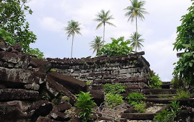 nan madol ruins - megalithic micronesia
