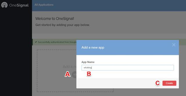 onesignal-web-push-notification-1-讓 Blogger 網站可以向訂閱者發佈通知﹍OneSignal 網頁推播訊息外掛