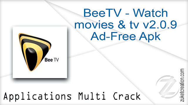 BeeTV – Watch movies & tv v2.0.9 Ad-Free Apk