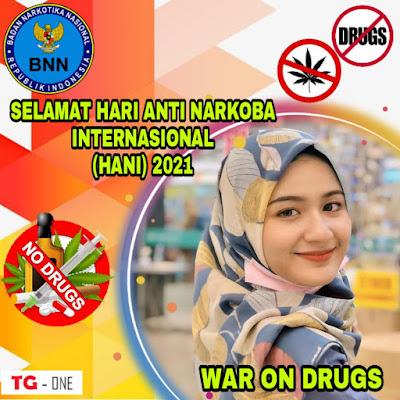Twibbon Anti Narkoba Internasional