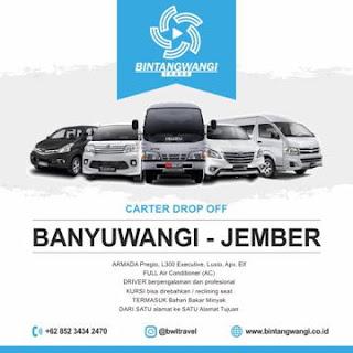 Travel Banyuwangi ke Jember Carter Drop Off