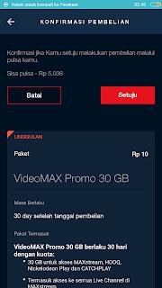 Tutorial Mengubah Paket Maxstream Menjadi Kouta Flash Kartu Telkomsel